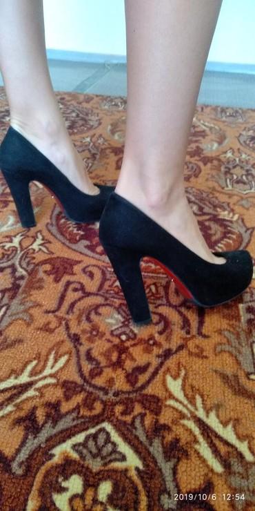 туфли чёрные замшевые в Кыргызстан: Женские туфли 36