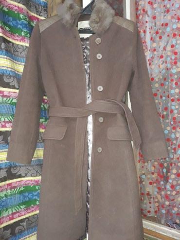 Пальто почти новое, размер 46. Покупала за 7000сом. Отдам за 1500 с. в Бишкек