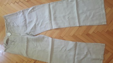 Pantalone-boja - Srbija: Lanene pantalone marka: ORSEY boja: drap