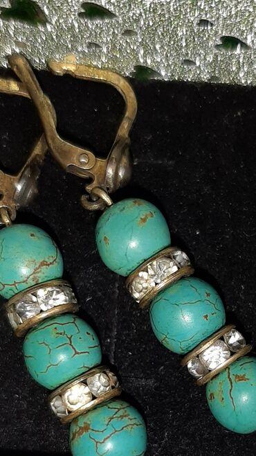 bmw-7-серия-735i-at - Azərbaycan: Firuzanın gümüş sırğalar, uzunluğu 4 sm. daşlar arasında fionit var