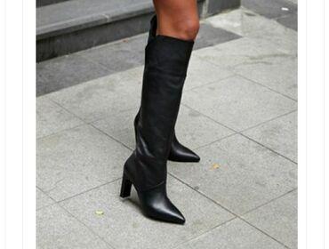 Продаю женские сапоги (деми) на удобном каблуке 8см.Натуральная 100%