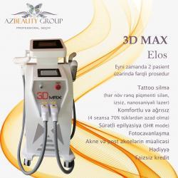 salon üçün yer icarəsi - Azərbaycan: Lazer epilyasiya aparatiYeni Model 3D MAXTattoo silmə (hər növ rəng