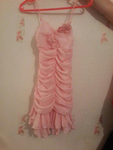 Платье коктельное. На девочку 10-11 лет. Размер 150. Одевали 1 раз. в Бишкек