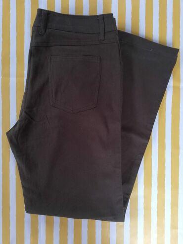 Zenske pantalone crne - Srbija: Zenske pantalone maslinasto zelene velicina 42 NOVOMaslinasto zelene