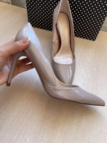 Женская обувь - Кыргызстан: Туфли Zara одевала один раз