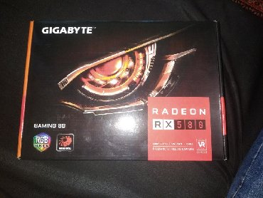 gigabyte radeon hd в Кыргызстан: Amd radeon Rx 580 8 GB gaming 256bit