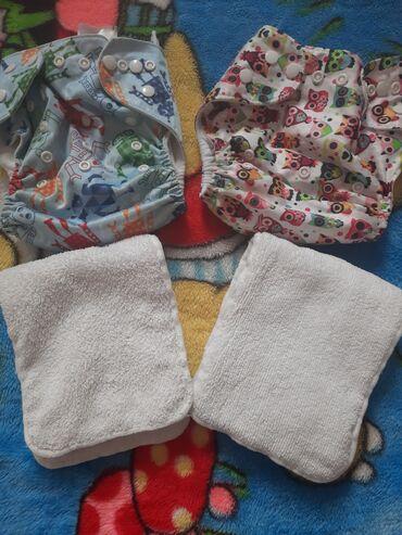 Детский мир - Александровка: Многоразовые подгузники Eco baby бу,чистые по 200с