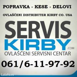Sve za kirbi aparate, kese, delovi, servis, popravka. Ovlašćeni - Belgrade