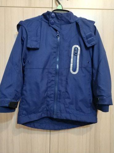 Куртка деми, с Англии, на 2-3 года, в идеальном состоянии, внутри