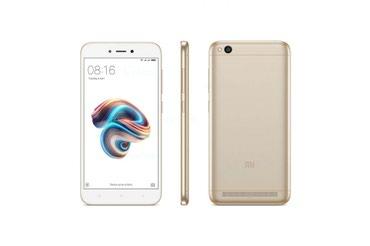 Xiaomi redmi 4 16gb grey - Azerbejdžan: Novo Xiaomi Redmi 5A 16 GB zlatni