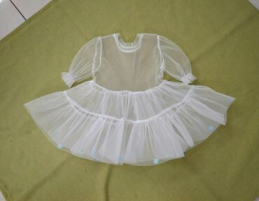 полосатая туника в Кыргызстан: Платье на 3 года. Фатин. Можно одеть поверх любой туники