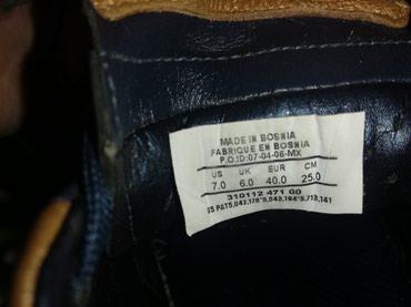 Papuce iz pariza - Srbija: Kopačke kožne, sa kranponima na skidanje, ne korišćene dobijene iz
