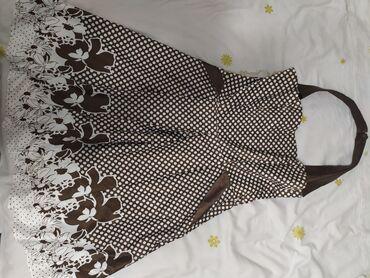 женское коктейльное платье в Кыргызстан: Платье женское, б/у, состояние отличное, носила пару раз