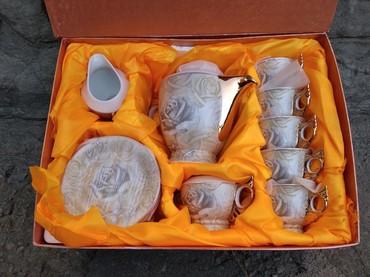 фарфоровый сервис в Кыргызстан: Сервис чайный. Новый, импортный