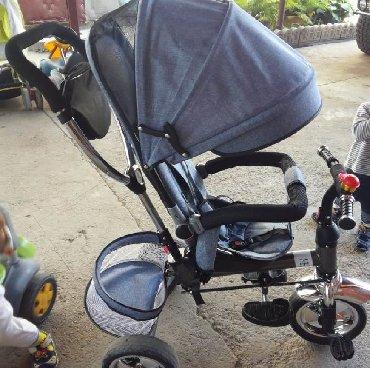 Другие товары для детей в Кант: Продам велосипед коляску в отличном состоянии. Город Кант. Чистый
