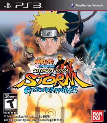 Ps3 *ultimate ninja storm* в Bakı