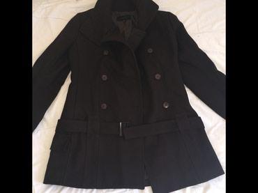Kaput vuna - Srbija: Imperial italijanski kaput, vuna i kasmir. Kao nov, obucen 2/3 puta