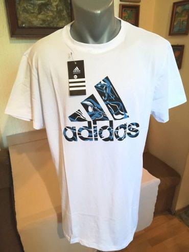 Majica muska adidas - Srbija: Nova muska markirana majica Adidas. Turska. Vrlo dobra muska majica za