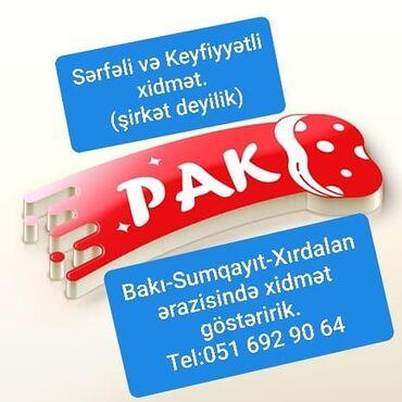 Bakı-Sumqayıt-Xırdalan ərazisində fəaliyyət göstəririk.Şirkət