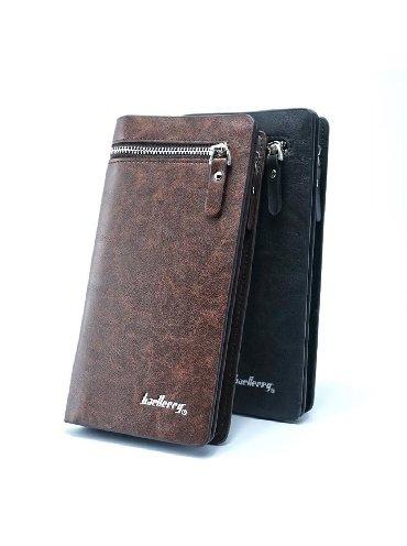 сумка-бу-кожа в Кыргызстан: Купить мужское портмоне, кошелёк Baellerry Italia +БЕСПЛАТНАЯ ДОСТАВКА