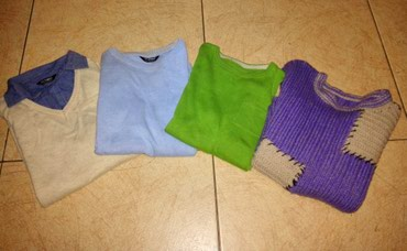 4 кофты, 4 рубашки на мальчика 7-9 лет, в Бишкек