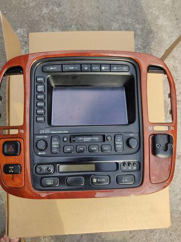 Транспорт - Орто-Сай: Консоль от лех470lx,в рабочем состоянии,провода и разъёмы есть.Поменял