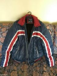 Muska jakna santoryio velicine xl sa kapuljacom na skidanje. Topla - Pirot
