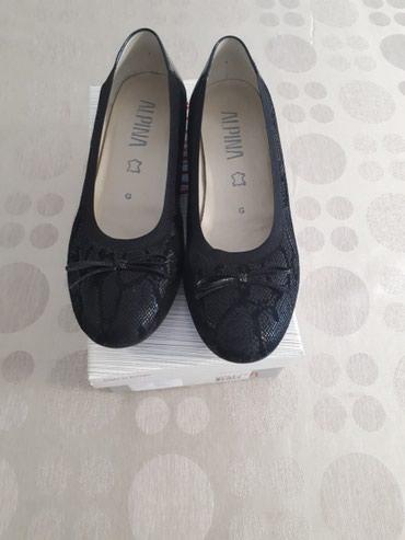 Ženske cipele, crna boja, prirodna koža spolja i iznutra, broj 40 - Belgrade