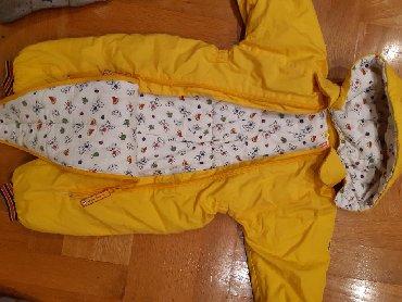 Pamuk bebi zute boj - Srbija: Skafander za bebe,univerzalne boje-zute,nije izbledeo,nije