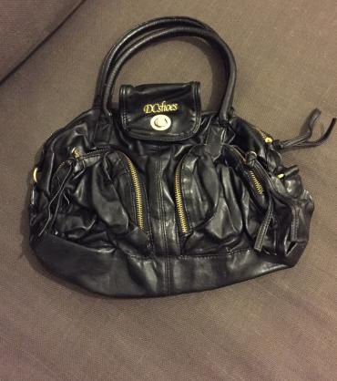 DC faux leather bag with lining and pockets outside and one inside . σε North & East Suburbs