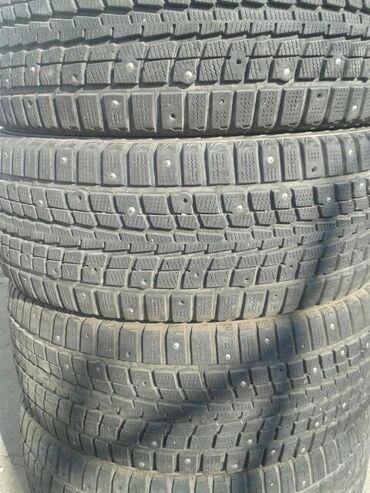 шины 205 55 r16 в Кыргызстан: Продаю хорошую жирную резину,205/55 r16 все 4 колеса ровные без