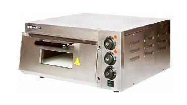 пресс для конусной пиццы в Кыргызстан: Печь для пиццы hurakan hkn-md1 модель оснащена электромеханической