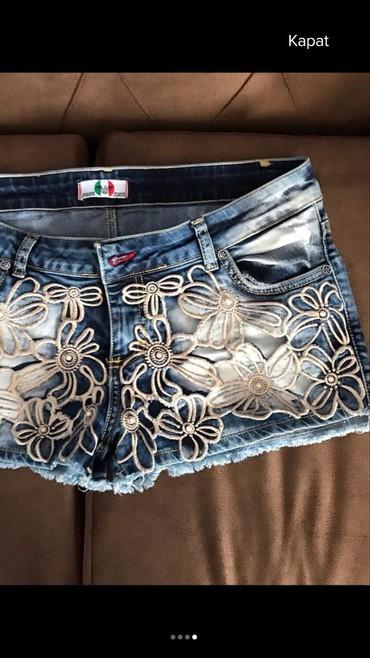 chasy-ot-emporio-armani в Кыргызстан: Шорты новые джинсовые бренда ARMANİ ОРИГИНАЛ размер L-XL
