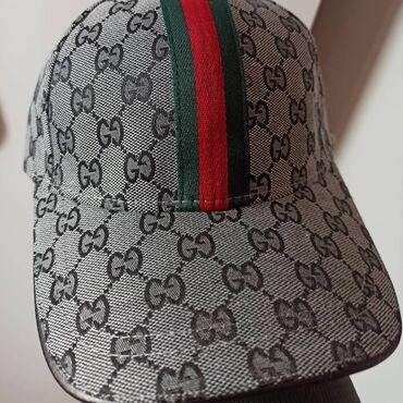 Личные вещи - Кыргызстан: Кепки Gucci unisexual (новые) Оригиналы (Люкс-класс)Качество