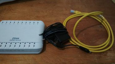 Проводной роутер, все в комплекте за 499 сома в Бишкек