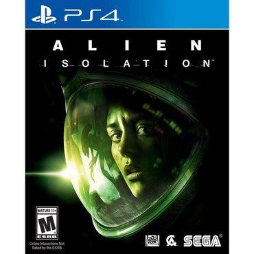 Alien isolation Ps4. Sony PlayStation 4 oyunlarının və aksesuarlarinin