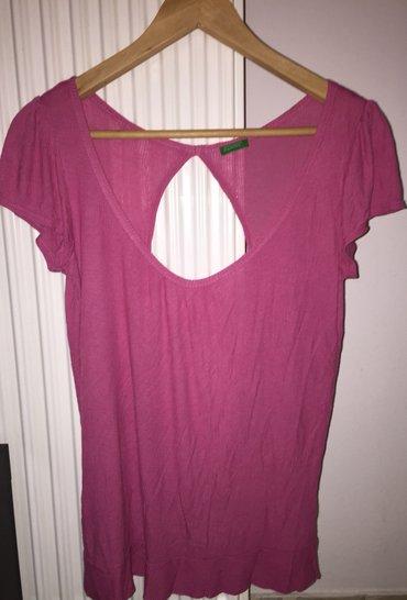 Φούξια Μπλούζα benetton ελαφρά γυαλιστερό σε Υπόλοιπο Αττικής - εικόνες 3
