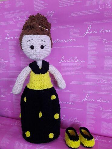 маленькое черное платье для полных в Кыргызстан: Куколки ручной работы для маленьких принцесс