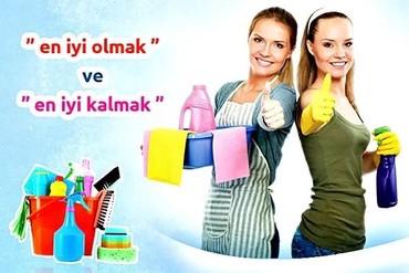 Bakı şəhərində Ofis ve evlerde villalarda temizlik isleri aparmaq isteyenler muraciet