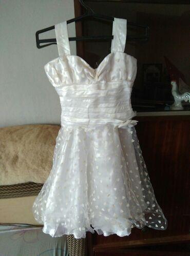 Dečija odeća i obuća - Lebane: Haljinica vencanica,pogodna za krstenje deteta ili slicnih