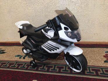 Детские электрокары - Кыргызстан: Новый мотик заказывали с Москвы ребёнку не интереснона улицу не