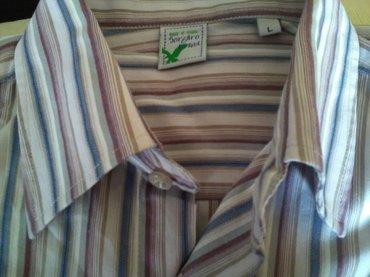 Odlična muška košulja, Sorgaro brend, veličina L, za leto, - Pozarevac