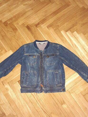 Duzina sirina rukava - Srbija: Prelepa teksas jaknica u super stanju.Pise za 4 god.ali pogledajte