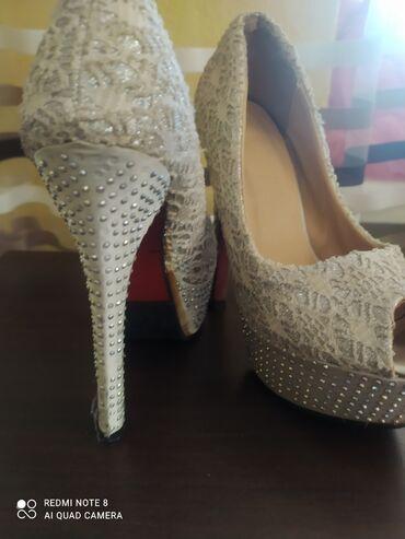 Личные вещи - Гавриловка: Туфли серебристые34