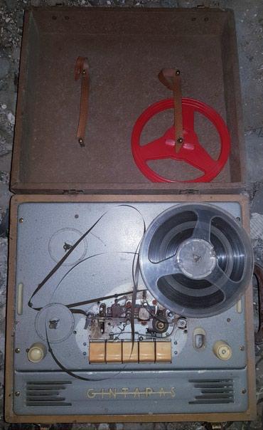 Катушечный магнитофон в чемодане. Cintaras, Gintaras. в Бишкек