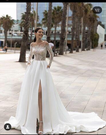 свадебное платье напрокат в Кыргызстан: Продаётся свадебное платье,точно такое как на фото