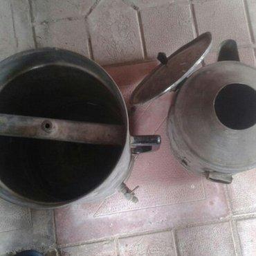 Sumqayıt şəhərində Samaqon aparatı 12 litr həcmi.