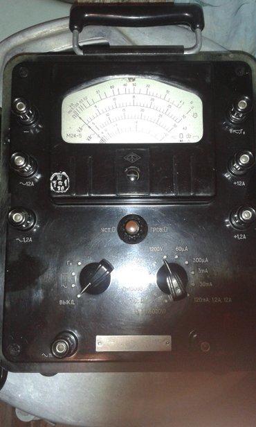 Другое электромонтажное оборудование - Бишкек: Продаю мультиметр советский. Самовывоз с 8 микрорайона
