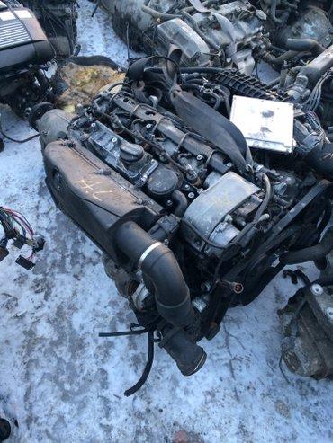 Продаю двигательи на мерседес дизель бензин привозные  в Бишкек