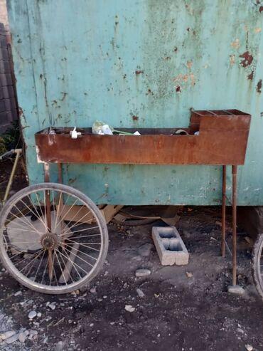 smoker koptilnja gril mangal в Кыргызстан: Мангал пользовались пару раз и стоит просто